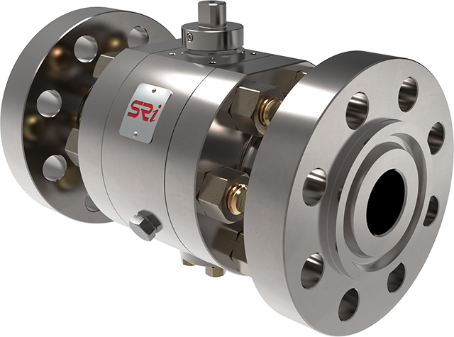 trunnion ball valve three parts side-entry